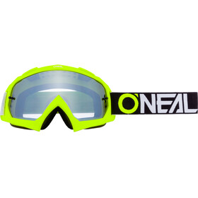 O'Neal B-10 Goggles, twoface-black/neon yellow-silver mirror